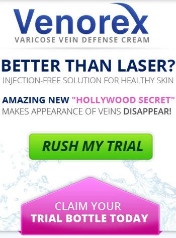 get venorex varicose defense cream